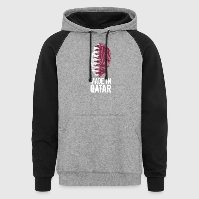 Made In Qatar / قطر - Colorblock Hoodie