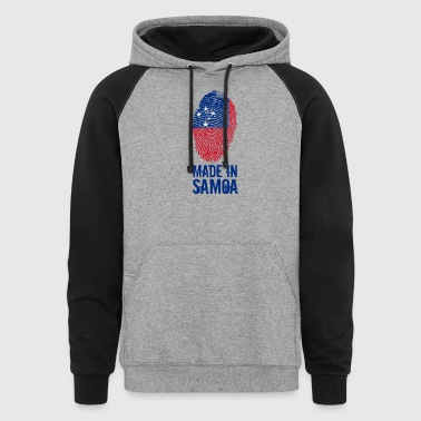 Made In Samoa - Colorblock Hoodie