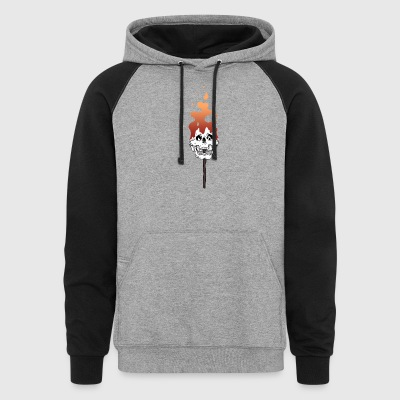 Match Gradient - Colorblock Hoodie