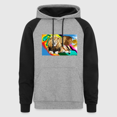 Lion Majesty - Colorblock Hoodie