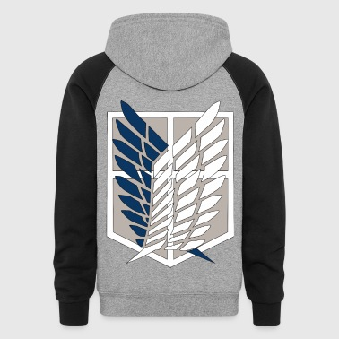 Attack on Titan - Colorblock Hoodie