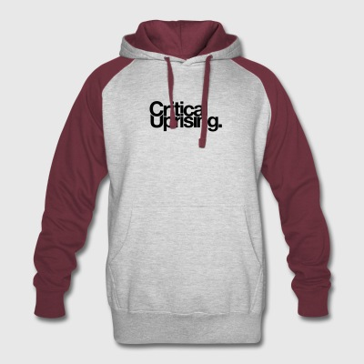 Critical Uprising Merchandise - Colorblock Hoodie