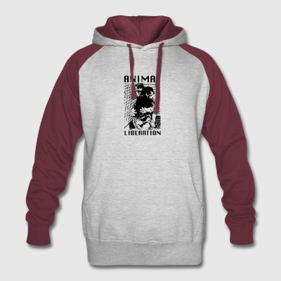 Animal Liberation - Colorblock Hoodie