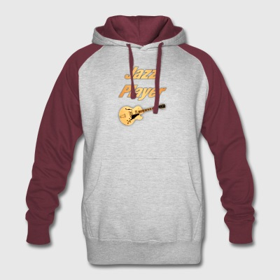 Jazz Player - Colorblock Hoodie