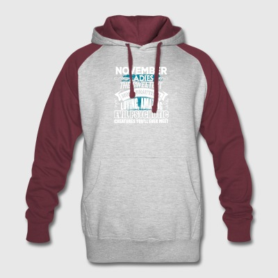 NOVEMBER Ladies - Colorblock Hoodie