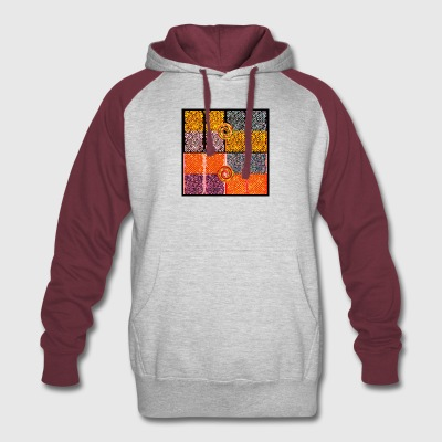Swirl World - Colorblock Hoodie