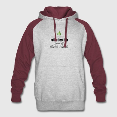 Agricultural worker is the best job you will have - Colorblock Hoodie
