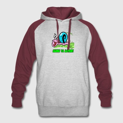 slime_ya_later_1 - Colorblock Hoodie