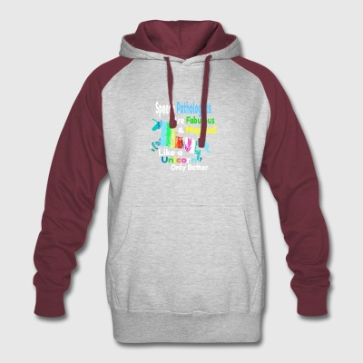 Speech Pathologists - Colorblock Hoodie