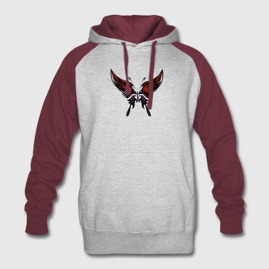 Butterfly - Colorblock Hoodie