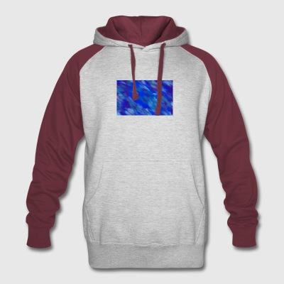 Colourful Design - Colorblock Hoodie