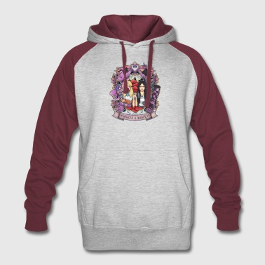 wonder and madness alice magical - Colorblock Hoodie
