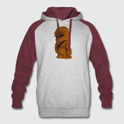 Angry Chewbacca - Colorblock Hoodie