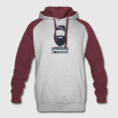 lumberjack in training - Colorblock Hoodie