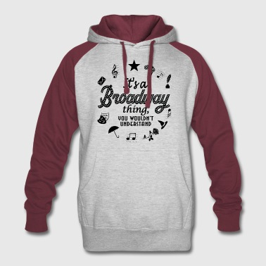It's a Broadway thing - Colorblock Hoodie
