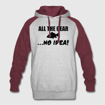 All The Gear No Idea - Colorblock Hoodie