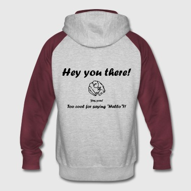 Hey You There! - Colorblock Hoodie