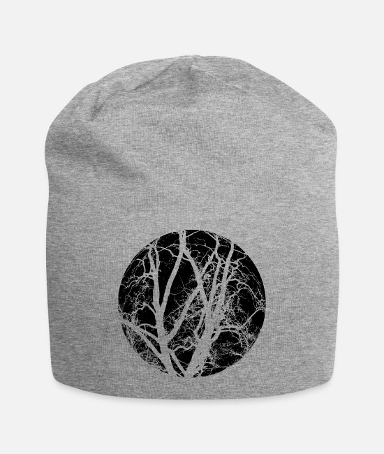 AST Caps & Hats - Trees branches - Beanie heather gray