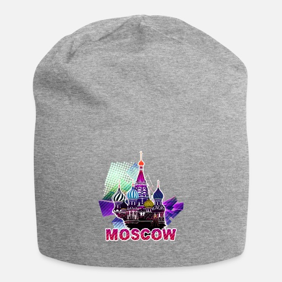 Eastern Europe Caps - moscow 3 j - Beanie heather gray