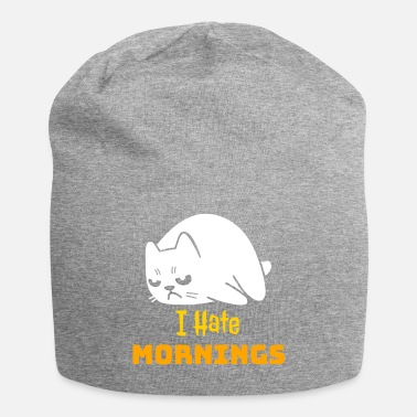 Grumpy In The Morning Grumpy Cat - I Hate Mornings - Beanie