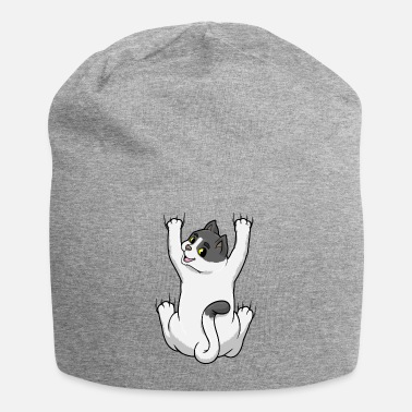 British Cat on Hug - Beanie