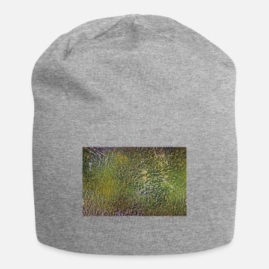 Fine Art Abstract Art - Green / Yellow - Artist / Painting - Beanie
