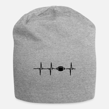 I Heart Football MY HEART BEATS FOR FOOTBALL - Beanie