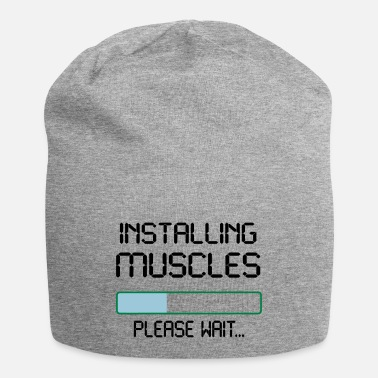 Installation installing muscles - Beanie