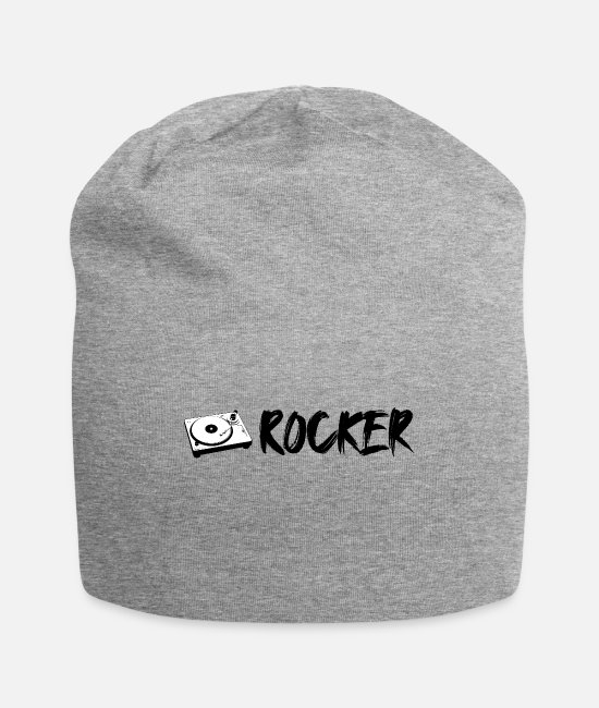 Turn Table Caps & Hats - Turntable Rocker 2 - Beanie heather gray
