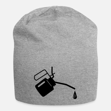 Oil An oil can and oil drop - Beanie