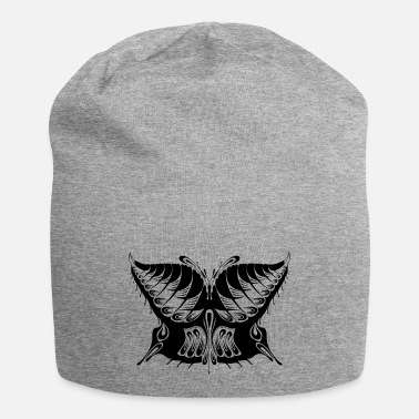 Abstract Abstract Butterfly Silhouette - Beanie