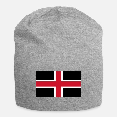 English Flag Of The English City Of Durham - Beanie