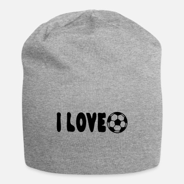 I Heart Football I love football - Beanie