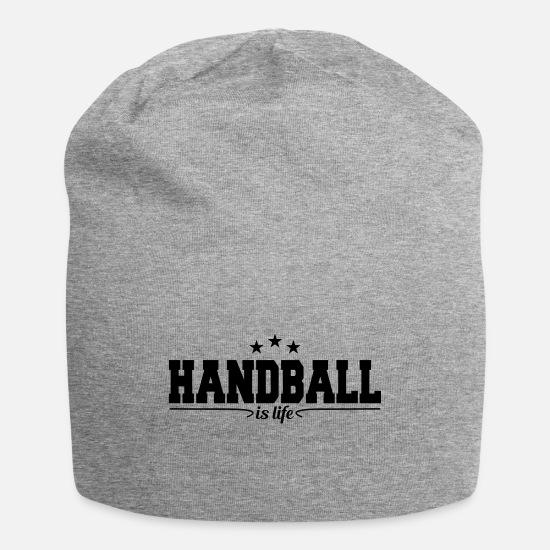 Game Caps - handball is life 4 - Beanie heather gray