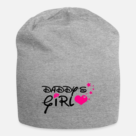 Daddy's Girl Caps - Daddy's Girl - Beanie heather gray