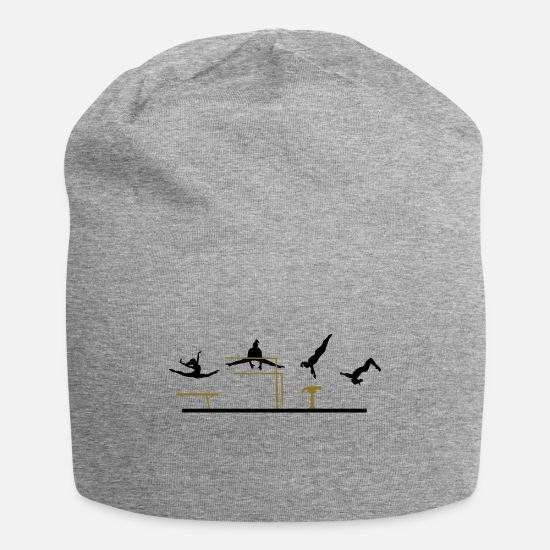 Gymnastic Caps - Gymnastics, Gymnast - Beanie heather gray