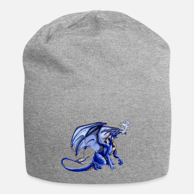 Hipster blue dragon - Beanie