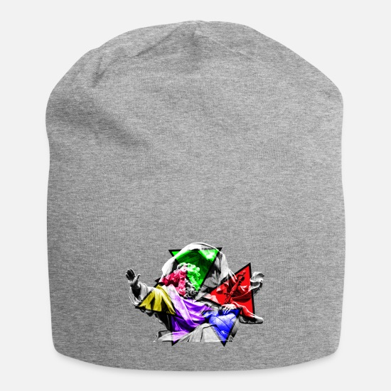 Urban People Caps - GOD COLORED - Beanie heather gray