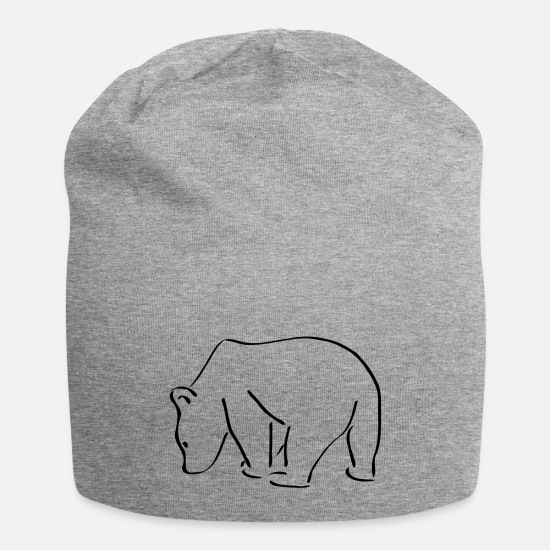 Art Caps - Bear - Beanie heather gray