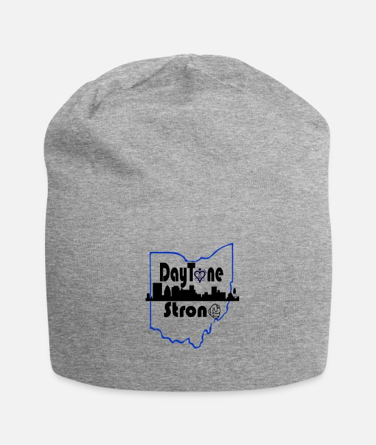 Rhode Island Caps & Hats - Ohio, Dayton Strong - Beanie heather gray