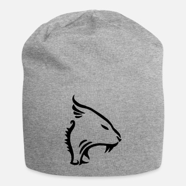 Raider Animal, cat, tiger, panther (black) - Beanie