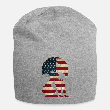 Graphic Art Fox america graphic art - Beanie