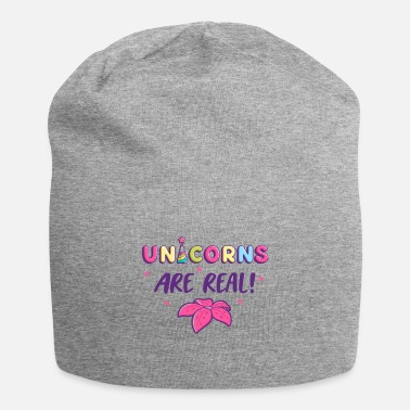 Number UNICORNS ARE REAL - Beanie