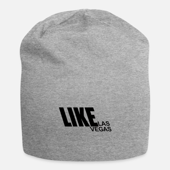 Gift Idea Caps - Like Las Vegas - Premium Design - Beanie heather gray