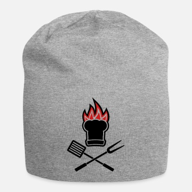 Grillmaster Barbecue on fire - Beanie
