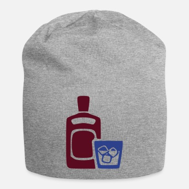 Intoxicant Alcohol, Ice and Bottle - Beanie