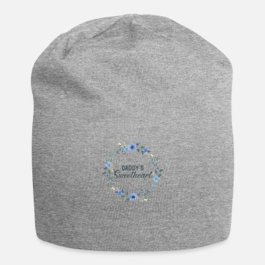 Cute Floral Daddy's Sweetheart Daughter Flowers - Beanie