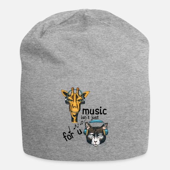 Catholic Caps - Music isn't Just For You - Beanie heather gray
