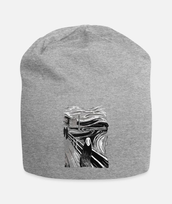 Movie Caps & Hats - The Face - Beanie heather gray