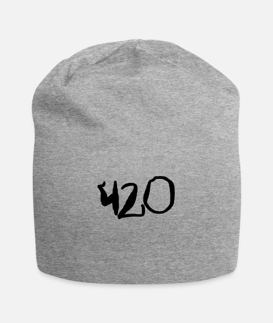 Bud Caps & Hats - (420t) - Beanie heather gray